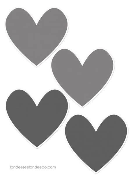 Kitchen Border Ideas valentine heart garland landeelu com