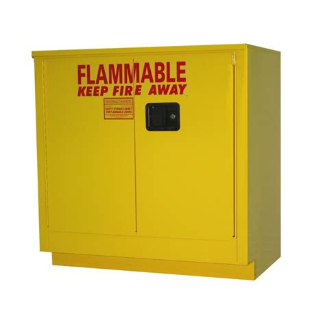 Flammable Storage Cabinet 36 Gallon Undercounter Flammable Storage Cabinet