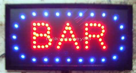 led sign light bar 2017 arriving customized led bar signs neon bar signs