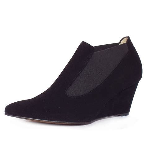 kaiser rilana s mid wedge shoe boots in