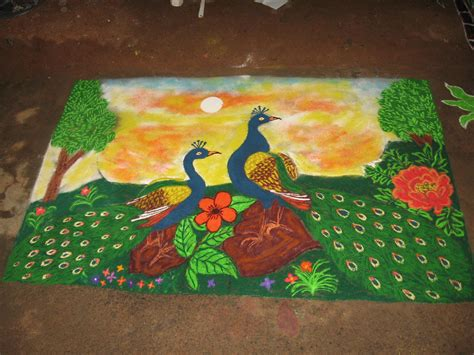 themes related to nature happy independence day rangoli designs on desh bhakti