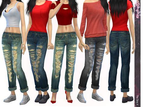 sims 4 cc boyfriend jeans simsimay s casual tomboy boyfriend jeans sims 4 updates