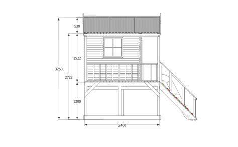 diy house plan diy elevated cubby house plans