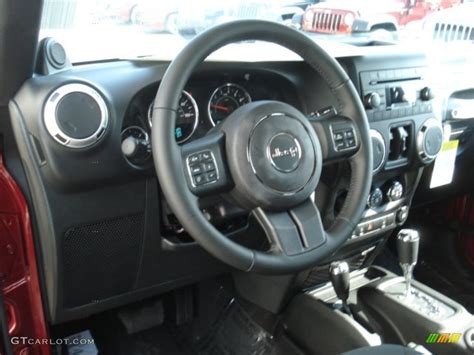 2013 Wrangler Interior by Black Interior 2013 Jeep Wrangler Unlimited 4x4