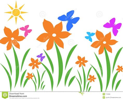 flower clip free summer flowers clipart