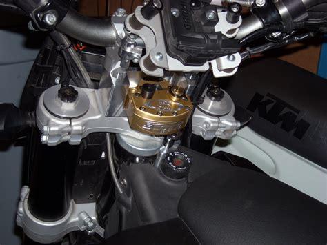 Steering Stabilizer Ktm Ktm 690 Enduro Scotts Steering Stabilizer Submount And