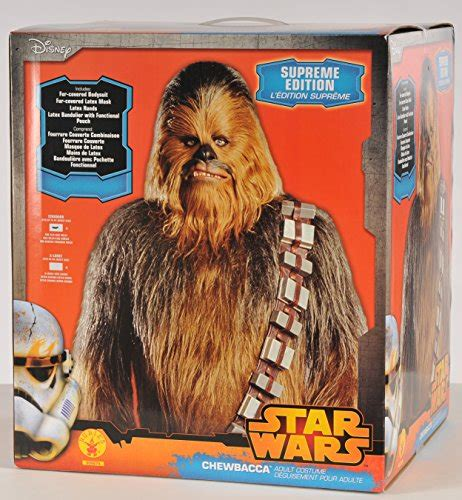 wars supreme costumes supreme chewbacca wars episode iii costume rubie s
