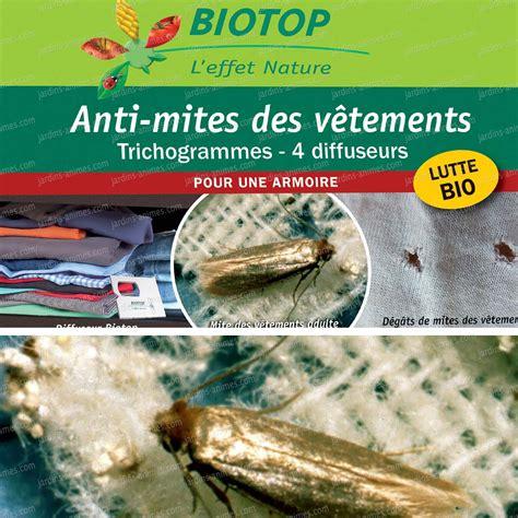 Comment Se Débarrasser Des Mites Textiles by Trichogrammes Anti Mites Des V 234 Tements 1 Boite 4