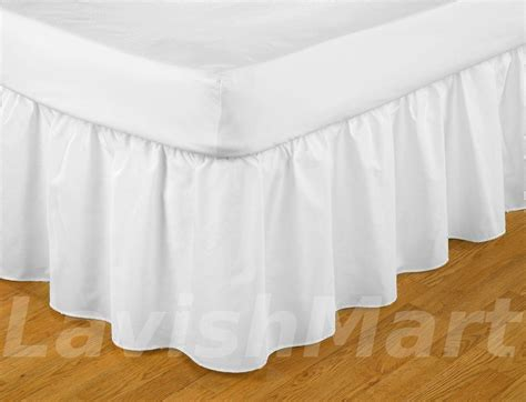 white ruffle bed skirt 1000 tc full size white ruffle bed skirt egyptian cotton