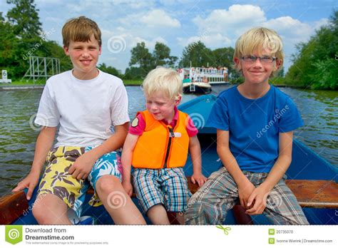 the boys and the boat boys in the boat stock photo image 20735070