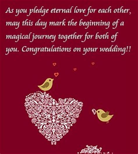 Wedding Wishes Words by Wedding Congratulations Quotes Quotesgram