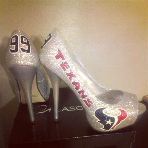 texans high heels 17 best images about houston texans fan on