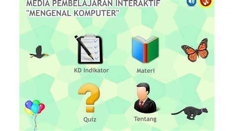 source fla pembelajaran interaktif kuis pilihan ganda