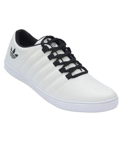 Casual Sneakers In White by Bucadia Sneakers White Casual Shoes Price In India Buy