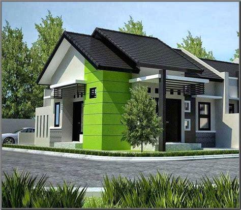 warna cat rumah minimalis tampak depan toko  pintu