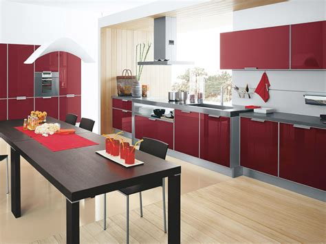 red kitchen design ideas inspirational red kitchen design ideas decobizz com