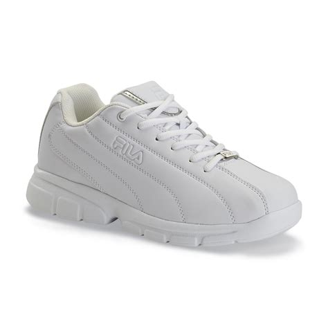 fila s fulcrum athletic shoe white