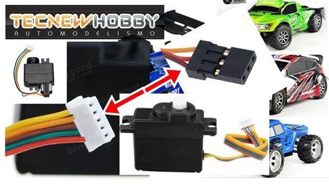 Servo Wl Toys V977v930 como colocar um servo de 3 fios nos wl toys 1 18 e 1 12 e outros mesmo sistema