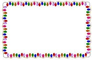 light border light bulb border clipart search results calendar 2015