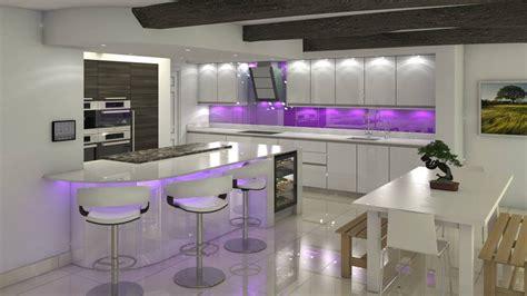 purple kitchen divine purple kitchen designs in contemporary style 2016