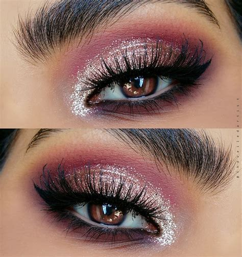 makeup glam classic glittery glam makeup tutorial ft a lot of