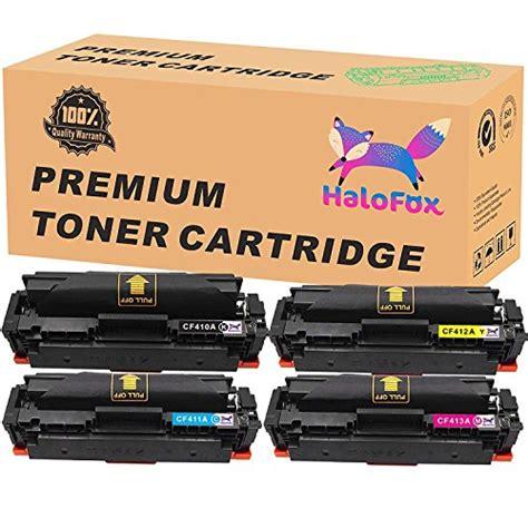 Toner Hp Cb540a Crg116bk Ce320a Cf210a Black Compatible halofox