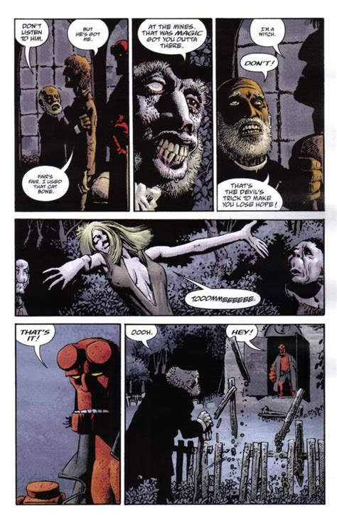 hellboy library edition volume 4 the crooked and the troll witch in the of dorkness comic review hellboy library