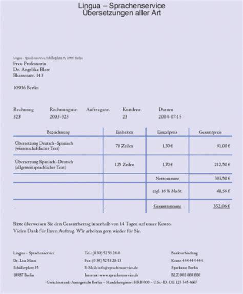 Musterbrief Reklamation Rechnung Musterbrief Rechnung Ellviva De