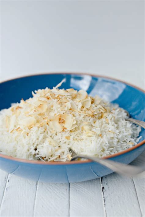 simply scratch rice cooker coconut rice simply scratch