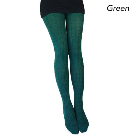 pattern design tights winter knit tights with ribbed pattern design buy under