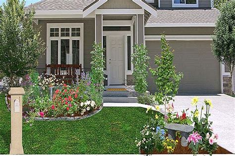 Garden Ideas Cheap Cheap Landscaping Ideas For Front Of House Greenvirals Style