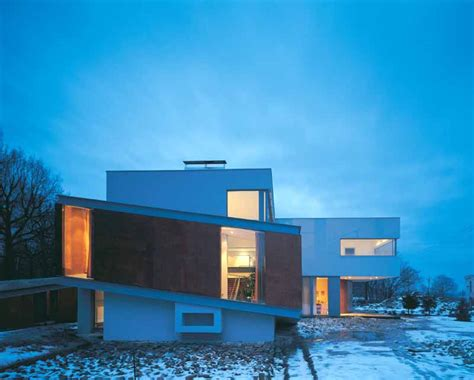 polish house modern architecture poland broken house architect