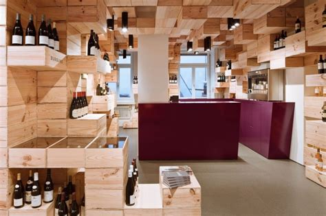 architect the albert reichmuth wine store design by oos architecture decoration ideas