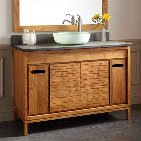 12 outstanding teak bathroom vanity designer direct divide