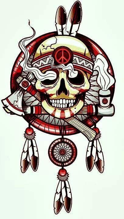 pin  steven miller   saves skull art biker
