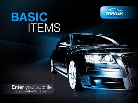 Car Powerpoint Template Image Collections Templates Car Powerpoint Template