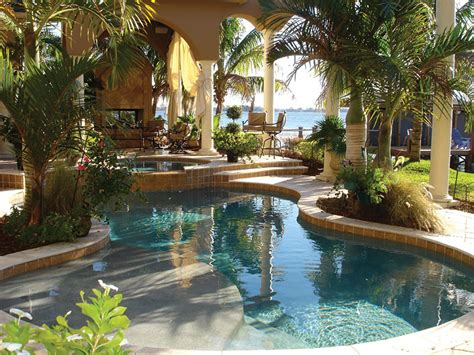 pools backyard outdoors tropicaldesigns swimming ultra outdoors the ultimate outdoor living space