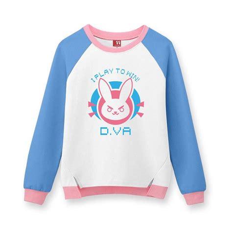 Sweater Overwatch Salsabila Cloth overwatch d va dva warm bunny sweater sd01457 kawaii harajuku fashion store