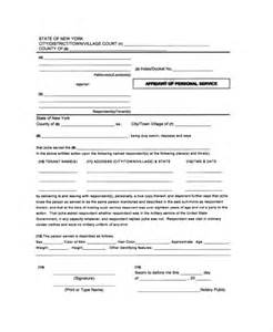 personal affidavit template sle affidavit of service forms 10 free documents in