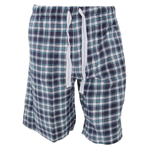 Sanbonnet Shortpants Pajamas cargo bay mens plaid pattern flannel pajama shorts ebay