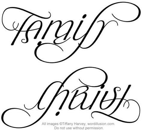 quot family quot amp quot christ quot ambigram v 1 a custom ambigram of