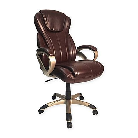 Manager Chair Design Ideas Z Line Designs Oversize Executive Chair In Brown Bed Bath Beyond