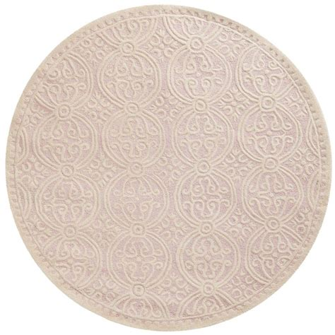 light pink wool rug safavieh nantucket pink multi 8 ft x 8 ft round area rug