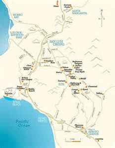 slo wine country map wine and wineries