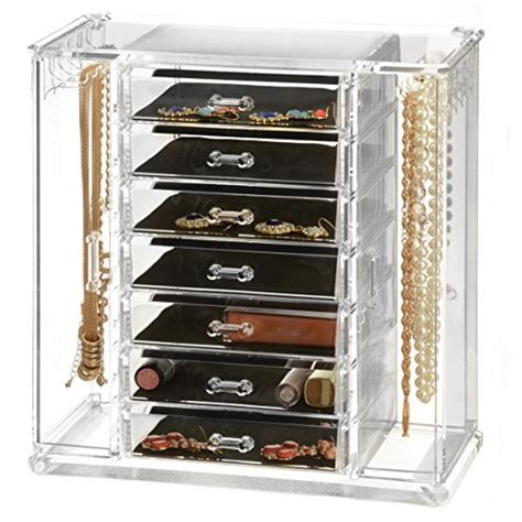 large drawer jewelry organizer sagler clear acrylic jewelry organizer and makeup