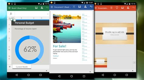 ms office for android microsoft office for android available for smartphones free to via play store the