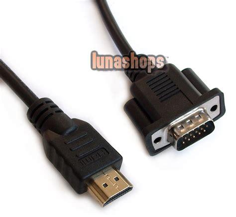 Kabel Vga 15 Pin To S 8 Pin 12 Meter 1 hdmi to vga d sub 15 pins av adapter cable