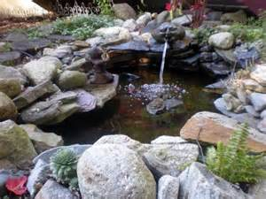 Rock Garden Pond Water Garden Rock And And Backyards On