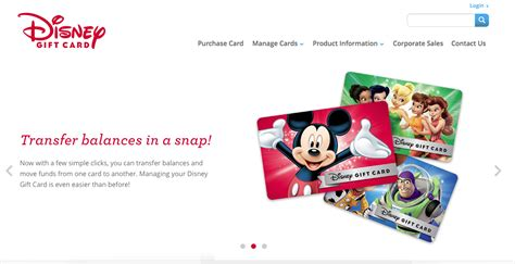Disney Gift Card Balance Transfer - paying your way managing disney gift cards