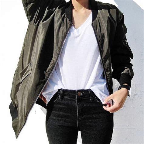 Jkt Bomber Flow Putih mave on fashion how to wear a white t shirt mave